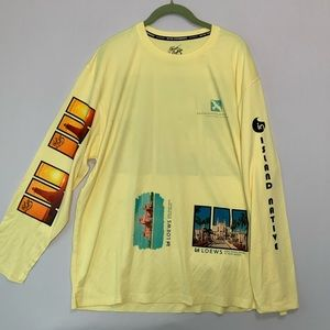 Native Outfitters tee XL Island Native Long Sleeve